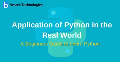 Application of Python in the Real World