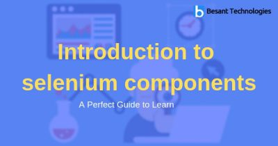 Introduction to selenium components