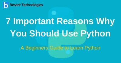 7 Important Reasons Why You Should Use Python