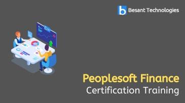 Peoplesoft Finance Training in OMR