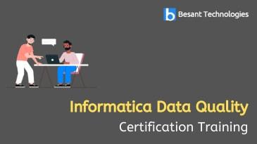 Informatica Data Quality Training in Sholinganallur