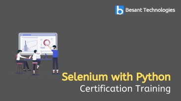 Selenium with Python training in Chennai